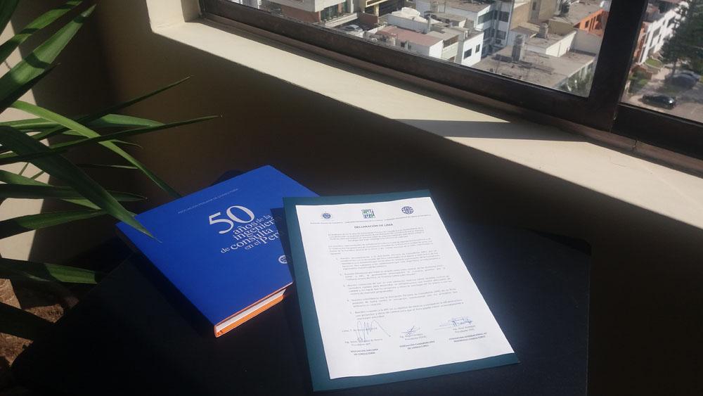 Declaratoria en Lima Mayo 2018